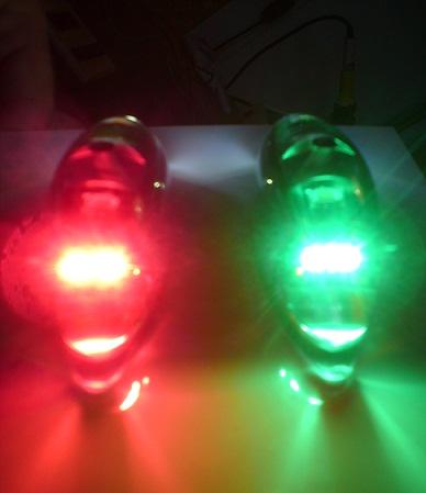 PL14V polohova svetla pozicni svetla osvetleni letadel pozicky